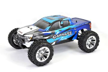 FTX CARNAGE 2.0 1/10 BRUSHED TRUCK 4WD RTR FTX5537B - BLUE